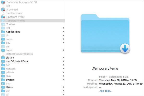 Hidden Files on Mac