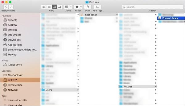Photos Library on Mac