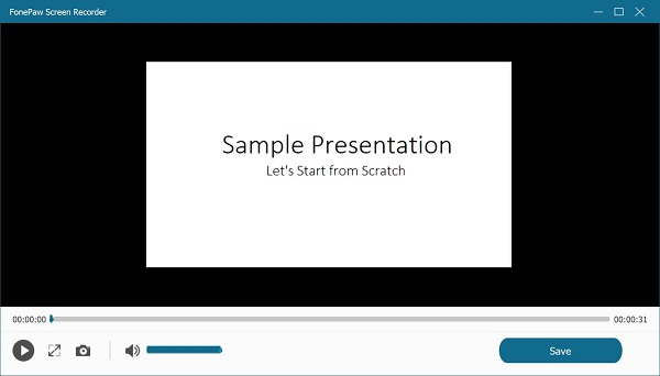 Watch Recorded PowerPoint Video