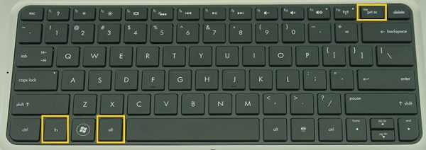 Alt + FN + PrtSc Keyboard Shortcut