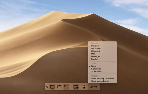Record Screen on macOS Mojave