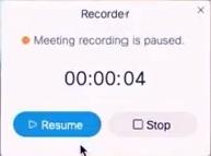 Recording Webex Meeting