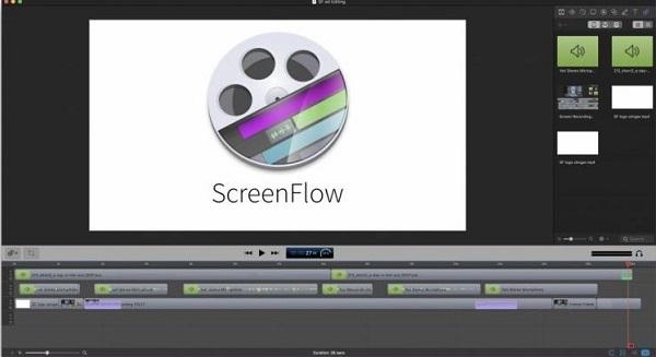 ScreenFlow Editing
