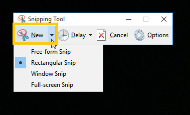 Snipping Tool New