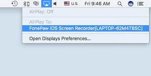 Mirror Mac Screen to PC
