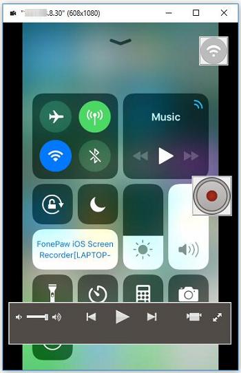 iOS Enable Screen Mirroring