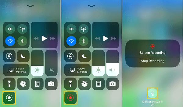 iOS 11 Record iPhone Screen