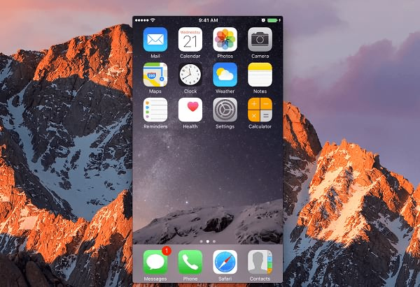 iPhone Mirror to Mac