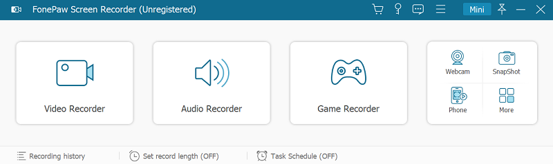 Recorder Homepage