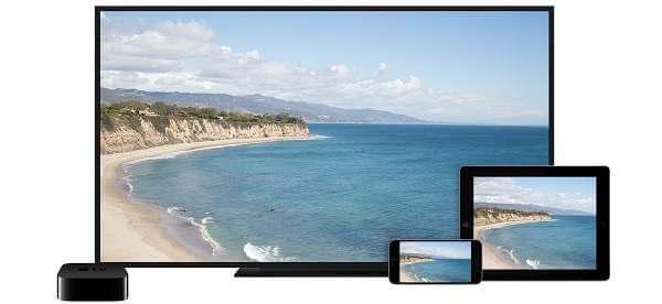 AirPlay iPhone iPad to Apple TV