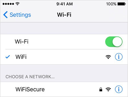 Connect with Wi-Fi