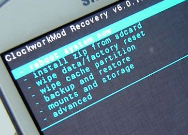 Factory Reset Android in Recovery Mode