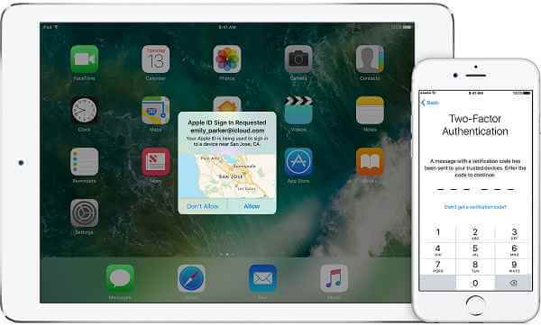 iOS 10 Two-Factor Authentication