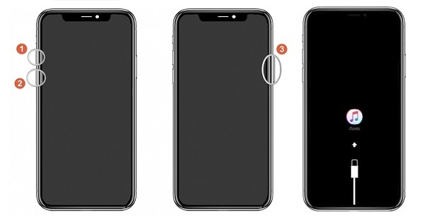Put iPhone X in Recovery Mode
