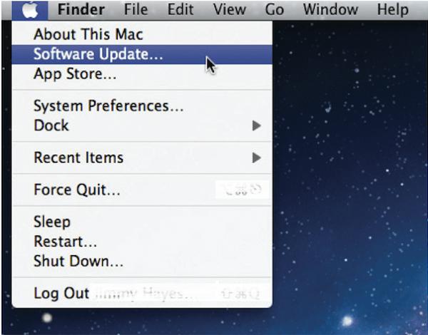 Software Update on Mac