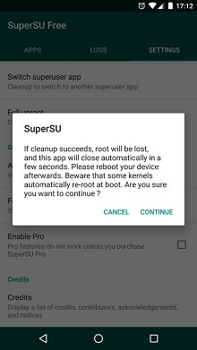 Unroot Your Android