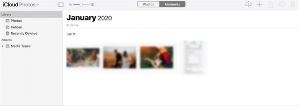 透過iCloud從電腦放影片到iPhone