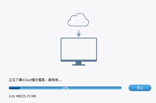 掃描 iCloud 檔案
