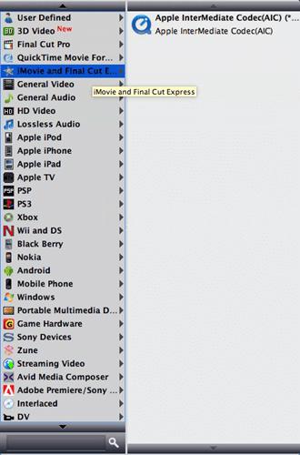 iMovie Format