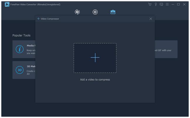 Video Compressor Add Files