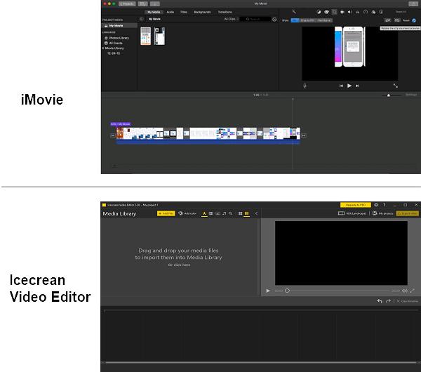 iMovie & iMovie Alternative for Windows