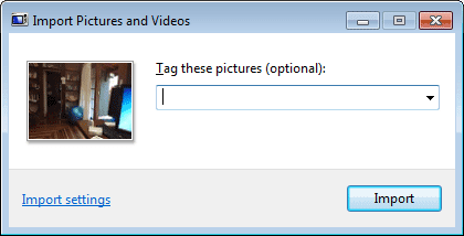 Import Pictures