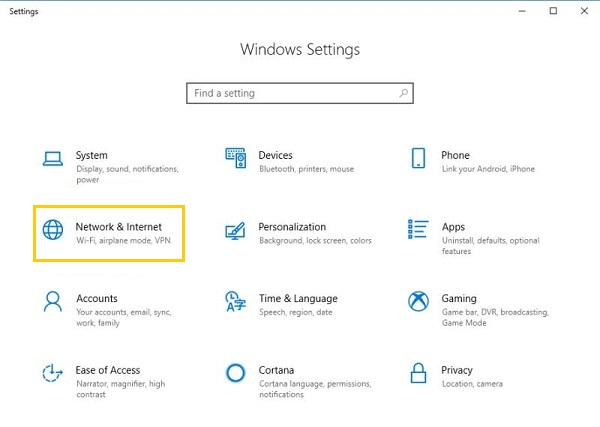 Windows Network and Connection